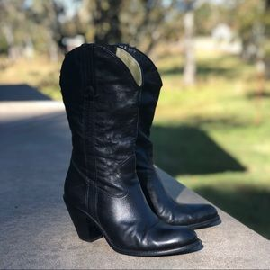 Jessica Simpson Soft Leather Boots